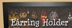 Earring Holder Tutorial