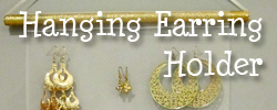 Hanging Earring Holder